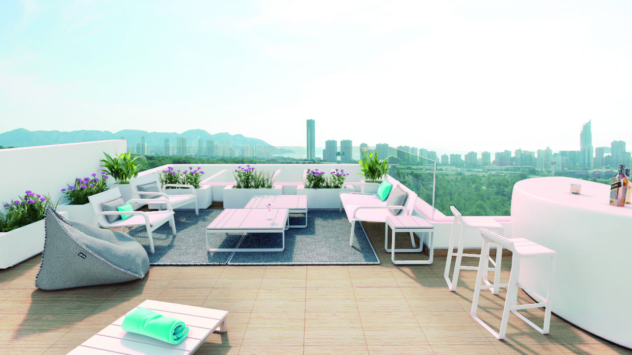 Villa Aqua - Campana Garden Villas for sale Finestrat Benidorm Costa Blanca Spain (1)