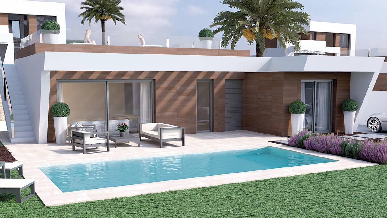 Villa Aqua - Campana Garden Villas for sale Finestrat Benidorm Costa Blanca Spain (4)