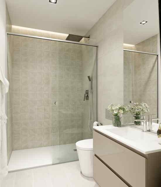 Vista baño previo